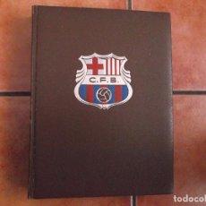 Coleccionismo deportivo: HISTORIA DEL C.F.BARCELONA 1971, EDITORIAL LA GRAN ENCICLOPEDIA VASCA, JAIME RAMON PERO. Lote 86814624