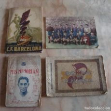 Coleccionismo deportivo: DIFICIL LOTE LIBROS PROGRAMAS F C BARCELONA VER FOTOS LEER. Lote 87100944
