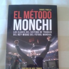 Coleccionismo deportivo: LIBRO METODO MONCHI. Lote 87136616