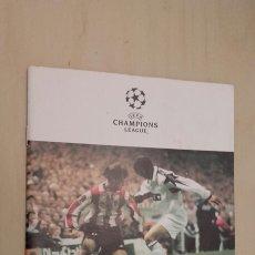 Coleccionismo deportivo: PROGRAMA DEL PARTIDO ATHLETIC BILBAO - GALATASARAY SK. CHAMPIONS LEAGUE. . Lote 89567192