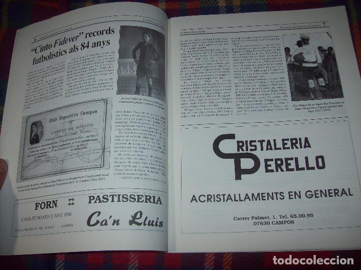 Coleccionismo deportivo: HISTÒRIA DEL FUTBOL A CAMPOS , 1924 - 1994 .ED. DEL MIGJORN. CLUB ESPORTIU CAMPOS. 1994. MALLORCA - Foto 4 - 92332820