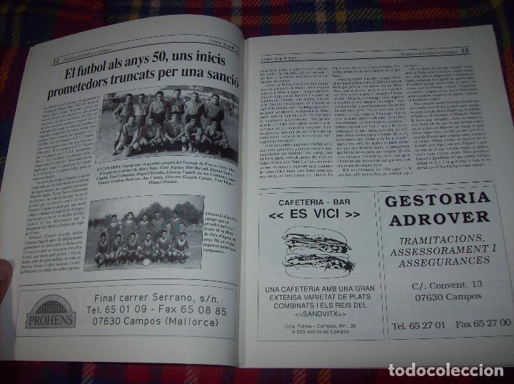 Coleccionismo deportivo: HISTÒRIA DEL FUTBOL A CAMPOS , 1924 - 1994 .ED. DEL MIGJORN. CLUB ESPORTIU CAMPOS. 1994. MALLORCA - Foto 5 - 92332820