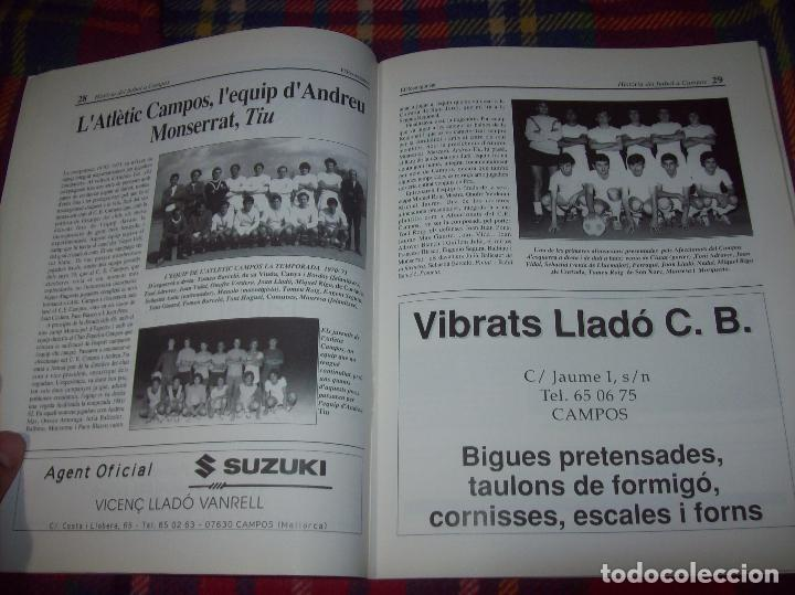 Coleccionismo deportivo: HISTÒRIA DEL FUTBOL A CAMPOS , 1924 - 1994 .ED. DEL MIGJORN. CLUB ESPORTIU CAMPOS. 1994. MALLORCA - Foto 8 - 92332820