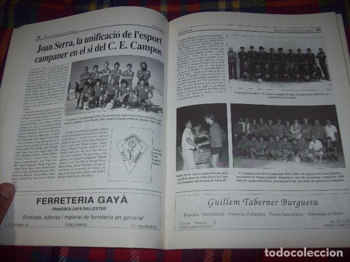 Coleccionismo deportivo: HISTÒRIA DEL FUTBOL A CAMPOS , 1924 - 1994 .ED. DEL MIGJORN. CLUB ESPORTIU CAMPOS. 1994. MALLORCA - Foto 9 - 92332820
