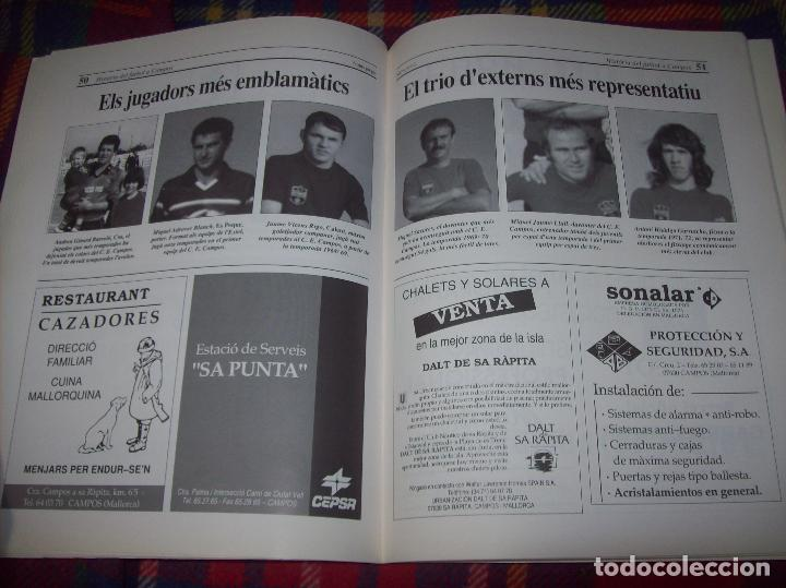 Coleccionismo deportivo: HISTÒRIA DEL FUTBOL A CAMPOS , 1924 - 1994 .ED. DEL MIGJORN. CLUB ESPORTIU CAMPOS. 1994. MALLORCA - Foto 10 - 92332820