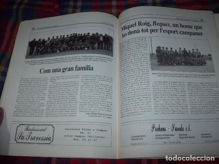 Coleccionismo deportivo: HISTÒRIA DEL FUTBOL A CAMPOS , 1924 - 1994 .ED. DEL MIGJORN. CLUB ESPORTIU CAMPOS. 1994. MALLORCA - Foto 11 - 92332820