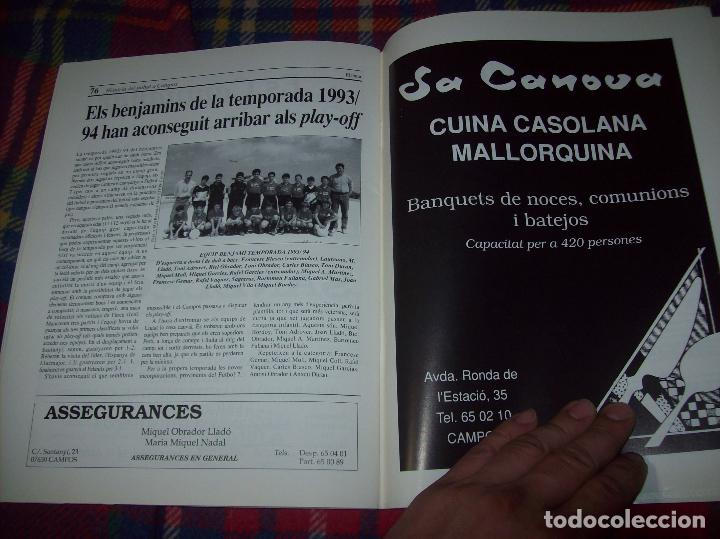 Coleccionismo deportivo: HISTÒRIA DEL FUTBOL A CAMPOS , 1924 - 1994 .ED. DEL MIGJORN. CLUB ESPORTIU CAMPOS. 1994. MALLORCA - Foto 13 - 92332820
