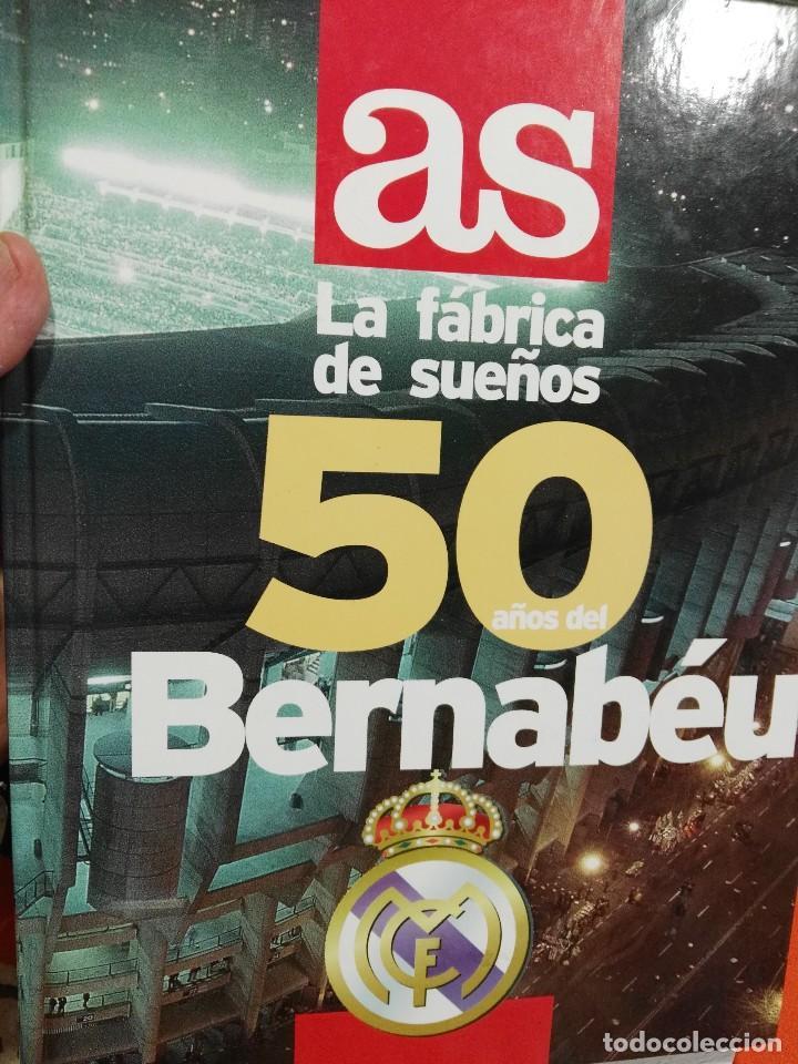 LIBRO 50 AÑOS DEL SANTIAGO BERNABEU. AS (Coleccionismo Deportivo - Libros de Fútbol)