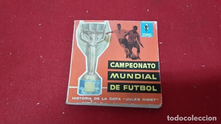 LIBRO DE FÚTBOL RESUMEN DE 1962 SOBRE LA COPA JULES RIMET (Coleccionismo Deportivo - Libros de Fútbol)