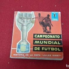 Coleccionismo deportivo: LIBRO DE FÚTBOL RESUMEN DE 1962 SOBRE LA COPA JULES RIMET. Lote 93262730