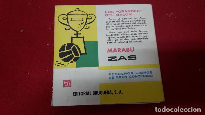 Coleccionismo deportivo: Libro de fútbol resumen de 1962 sobre la copa Jules Rimet - Foto 3 - 93262730