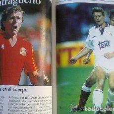 Coleccionismo deportivo: ASES DE NUESTRO FUTBOL - LIBRO SOBRE 15 FUTBOLISTAS ESPAÑOLES - PLANETA DE AGOSTINI. Lote 94138970