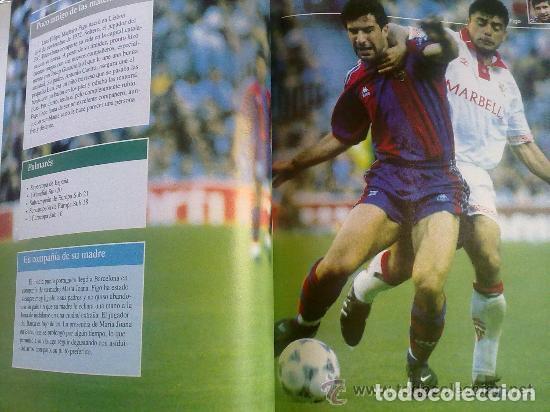 Coleccionismo deportivo: CRACKS DEL FUTBOL - LIBRO SOBRE 15 FUTBOLISTAS DE MAXIMO NIVEL - PLANETA DE AGOSTINI - Foto 2 - 94139105