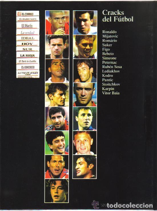 Coleccionismo deportivo: CRACKS DEL FUTBOL - LIBRO SOBRE 15 FUTBOLISTAS DE MAXIMO NIVEL - PLANETA DE AGOSTINI - Foto 6 - 94139105