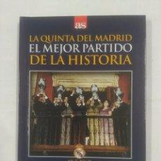Coleccionismo deportivo - LA QUINTA DEL REAL MADRID. EL MEJOR PARTIDO DE LA HISTORIA. 18-5-1960. EINTRACHT FRANCFORT. TDK311 - 94167210