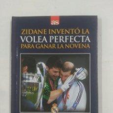 Coleccionismo deportivo - VOLEA PERFECTA PARA GANAR LA NOVENA. 15-5-2002. REAL MADRID. BAYER LEVERKUSEN. 2-1. TDK311 - 94167400