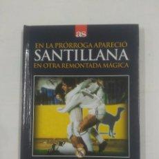 Coleccionismo deportivo - EN LA PRORROGA APARECIO SANTILLANA EN OTRA REMONTADA MAGICA. REAL MADRID INTER 16-4-1986. TDK311 - 94167755