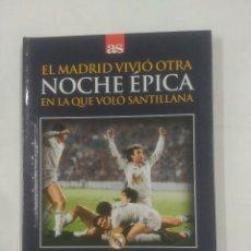 Coleccionismo deportivo - EL MADRID VIVIO OTRA NOCHE EPICA EN LA QUE VOLO SANTILLANA. 11-12-1985. MONCHENGLADBACH TDK311 - 94168345