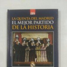 Coleccionismo deportivo - LA QUINTA DEL REAL MADRID. EL MEJOR PARTIDO DE LA HISTORIA. 18-5-1960. EINTRACHT FRANCFORT. TDK311 - 94168595