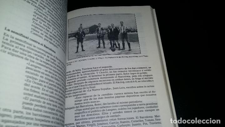 Coleccionismo deportivo: EL RACING CLUB LANGREANO ( 1915 / 1961 ) / HISTORIA DE UN CLUB POPULAR / FRANCISCO PALACIOS - Foto 3 - 94187395