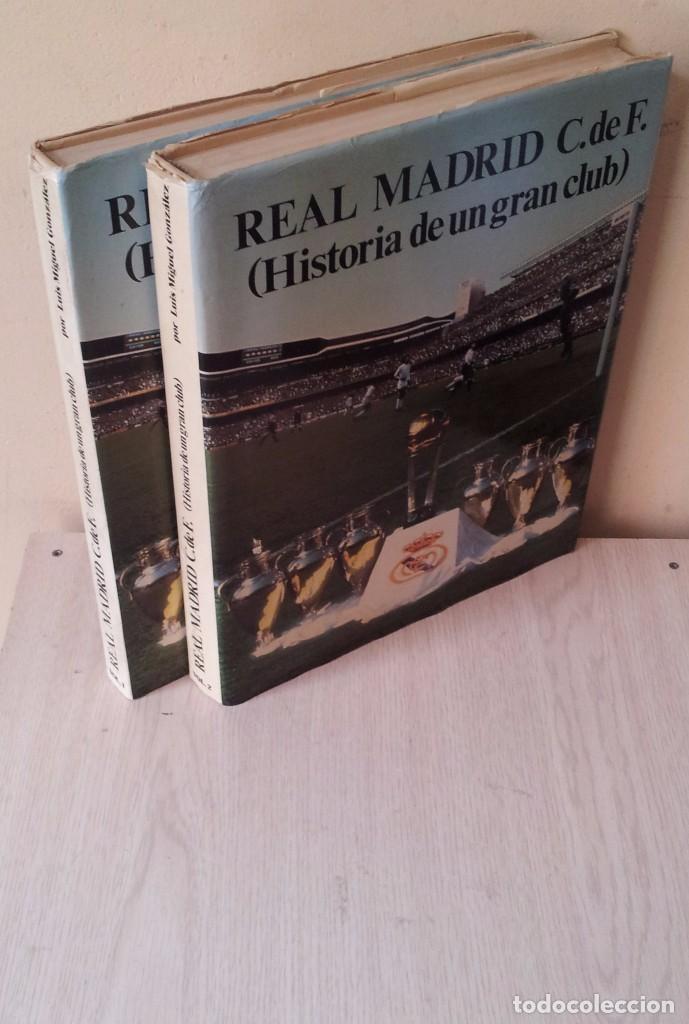 LUIS MIGUEL GONZALEZ - REAL MADRID C.DE F. (HISTORIA DE UN GRAN CLUB) - 2 TOMOS 1984 (Coleccionismo Deportivo - Libros de Fútbol)
