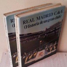 Coleccionismo deportivo: LUIS MIGUEL GONZALEZ - REAL MADRID C.DE F. (HISTORIA DE UN GRAN CLUB) - 2 TOMOS 1984. Lote 94365766
