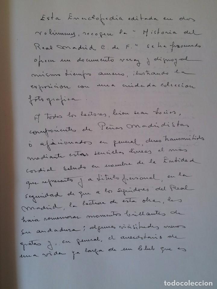 Coleccionismo deportivo: LUIS MIGUEL GONZALEZ - REAL MADRID C.de F. (HISTORIA DE UN GRAN CLUB) - 2 TOMOS 1984 - Foto 4 - 94365766