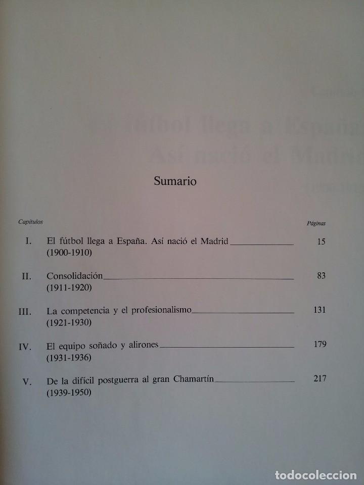 Coleccionismo deportivo: LUIS MIGUEL GONZALEZ - REAL MADRID C.de F. (HISTORIA DE UN GRAN CLUB) - 2 TOMOS 1984 - Foto 10 - 94365766