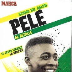 Coleccionismo deportivo: GENIOS DEL BALON.PELE. Lote 95390731