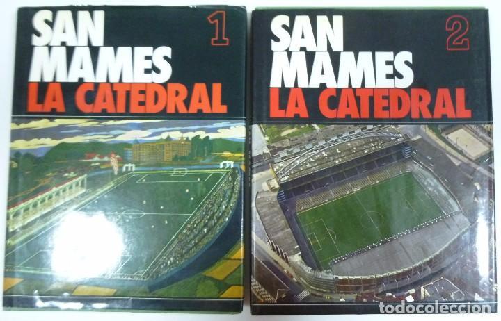 SAN MAMES LA CATEDRAL LIBRO EN 2 TOMOS SOBRE LA HISTORIA DEL ATHLETIC CLUB DE BILBAO FUTBOL (Coleccionismo Deportivo - Libros de Fútbol)