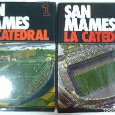 Coleccionismo deportivo: SAN MAMES LA CATEDRAL LIBRO EN 2 TOMOS SOBRE LA HISTORIA DEL ATHLETIC CLUB DE BILBAO FUTBOL. Lote 95592763