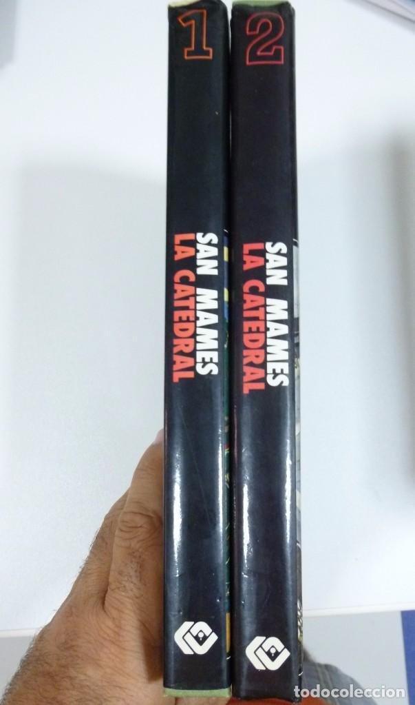 Coleccionismo deportivo: San Mames La Catedral Libro en 2 tomos sobre la historia del Athletic Club de Bilbao Futbol - Foto 2 - 95592763