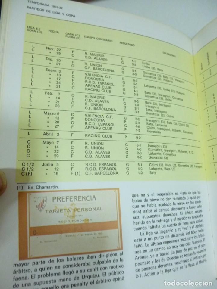 Coleccionismo deportivo: San Mames La Catedral Libro en 2 tomos sobre la historia del Athletic Club de Bilbao Futbol - Foto 6 - 95592763