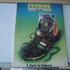 Coleccionismo deportivo: FUTBOL HISTORIA DEL MUNDIAL 1930 - 1990 ITALIA 90 POSIBLE RECOGIDA EN MALLORCA. Lote 95903575