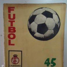 Coleccionismo deportivo: CALENDARIO LIGA FUTBOL 1975-76 EDICIONES VERTICE. Lote 96033607