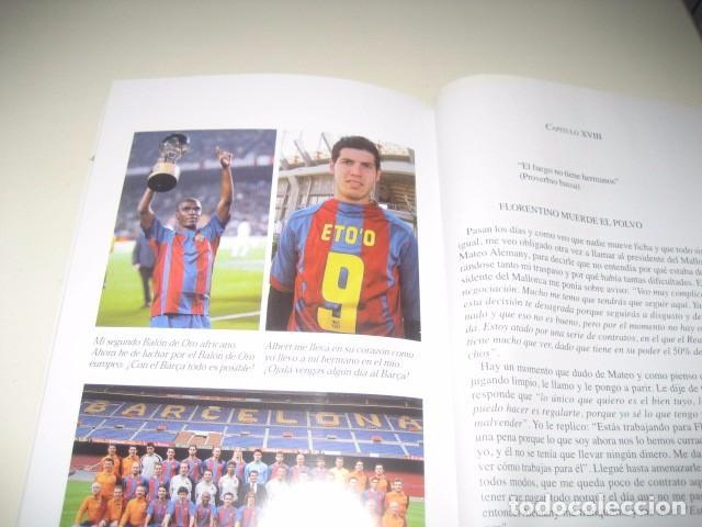 Coleccionismo deportivo: Libro Futbol SAMUEL ETOO Raza de Campeon. 1ª Edicion. Futbol Club Barcelona - Foto 2 - 96371359