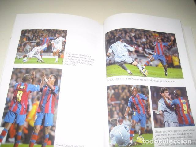 Coleccionismo deportivo: Libro Futbol SAMUEL ETOO Raza de Campeon. 1ª Edicion. Futbol Club Barcelona - Foto 3 - 96371359