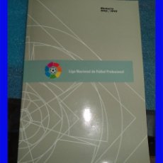 Coleccionismo deportivo: LIGA NACIONAL DE FUTBOL PROFESIONAL MEMORIA 1992/93 ED. POR LFP PARA USO EXCLUSIVO DE LOS CLUB . Lote 97740215