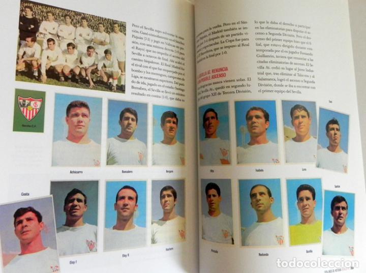 Coleccionismo deportivo: SEVILLA FC CIEN AÑOS DE HISTORIA TOMO 1 2 LIBROS ORO FÚTBOL CLUB - DEPORTE FOTOS LIBRO TOMOS SFC 100 - Foto 6 - 97797483