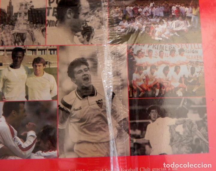 Coleccionismo deportivo: SEVILLA FC CIEN AÑOS DE HISTORIA TOMO 1 2 LIBROS ORO FÚTBOL CLUB - DEPORTE FOTOS LIBRO TOMOS SFC 100 - Foto 10 - 97797483