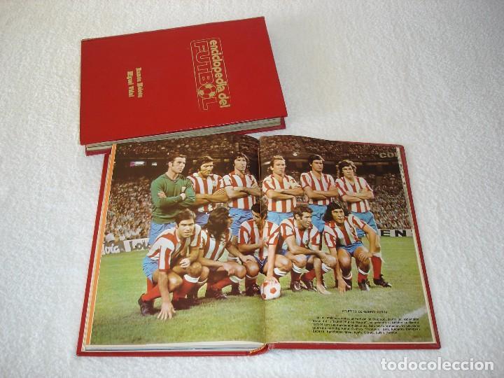 ENCICLOPEDIA DEL FUTBOL (2 TOMOS) - RAMON MELCÓN Y MIGUEL VIDAL - 1973 (Coleccionismo Deportivo - Libros de Fútbol)