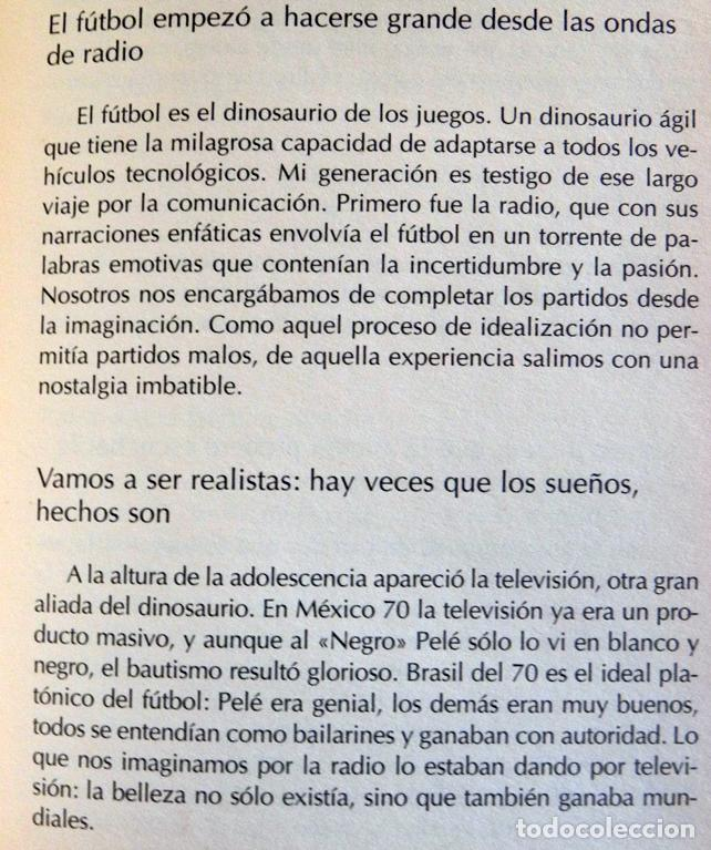 Coleccionismo deportivo: APUNTES DEL BALÓN - LIBRO - JORGE VALDANO - ANÉCDOTAS CURIOSIDADES Y OTROS PECADOS DE FÚTBOL DEPORTE - Foto 4 - 100149711