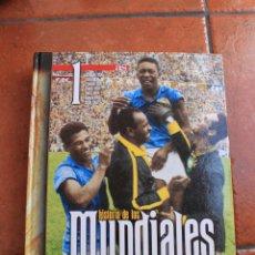 Coleccionismo deportivo: HISTORIA DE LOS MUNDIALES DE FUTBOL: 4 TOMOS. Lote 100178255