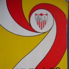 Coleccionismo deportivo: SEVILLA FC 75 AÑOS DE HISTORIA 1905-1980.151 PG ILUSTRADO.IMPECABLE. Lote 100293547