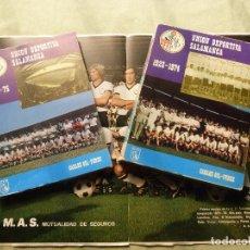 Coleccionismo deportivo: LIBROS UNIÓN DEPORTIVA SALAMANCA, FUTBOL DESDE 1923 - 1974 Y 1975 + POSTERS - CARLOS GIL PEREZ. Lote 100510759