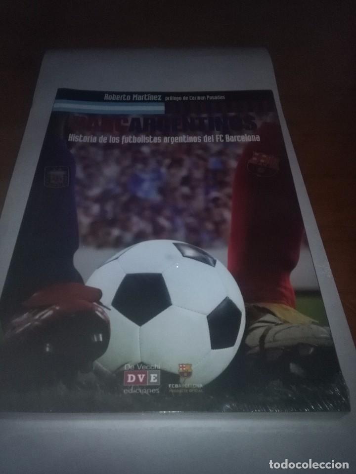 BARCARGENTINOS. HISTORIA DE LOS FUTBOLISTAS ARGENTINOS DE FC BARCELONA. NUEVO PRECINTADO. EST24B4 (Coleccionismo Deportivo - Libros de Fútbol)