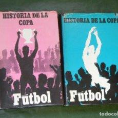Coleccionismo deportivo: HISTORIA DE LA COPA, NICOLAS Y ENRIQUE CIFUENTES - TOMOS I Y II. Lote 103766911