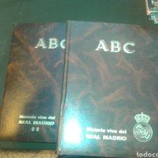 Coleccionismo deportivo: HISTORIA VIVA DEL REAL MADRID 2 TOMOS COLECCION DE ABC. Lote 103773790