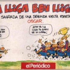 Coleccionismo deportivo: UNA LLIGA BEN LLIGADA - ILUSTRADO - OSCAR NEBREDA *. Lote 103955119