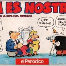 Coleccionismo deportivo: JA ES NOSTRA! - ILUSTRADO - OSCAR NEBREDA *. Lote 103955375